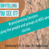April 25 Storytelling Brainstorm