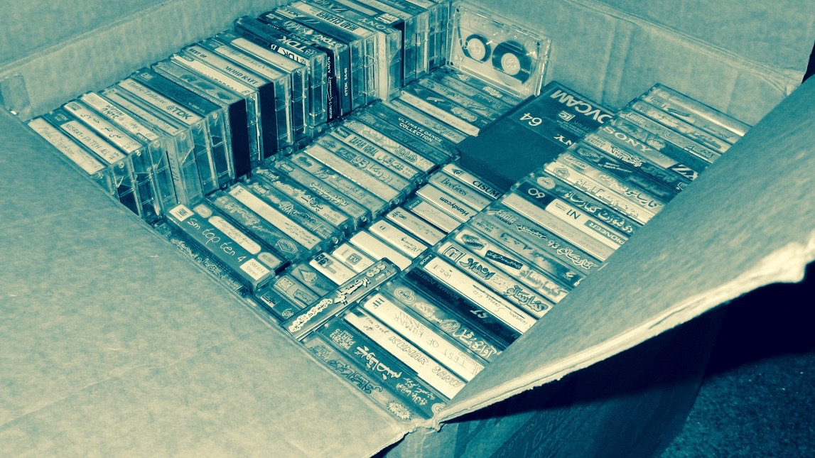 "CC by 2.0 ""Cassettes Archives"" by Asim Bijarani"