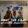 Meet the Fall 2017 DLC Graduate Assistants